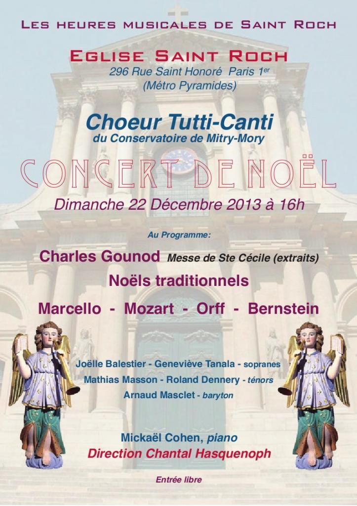 2013 - Les heures musicales de St Roch