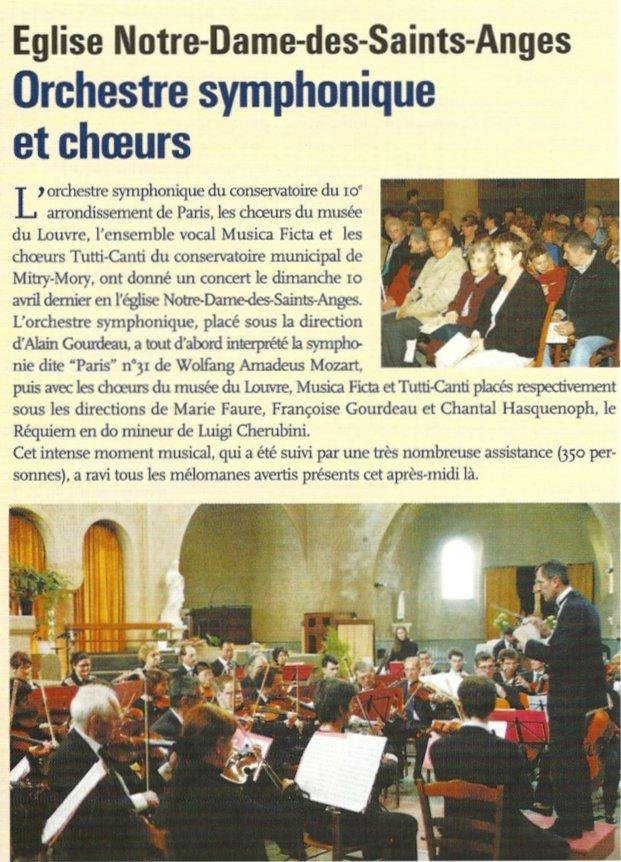 Notre Dame des Saints Anges 2004