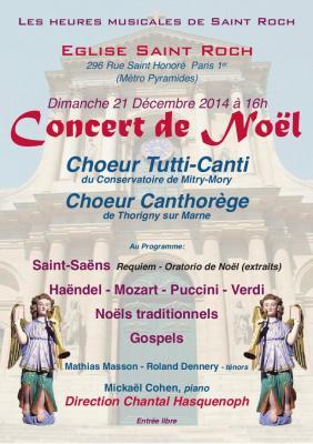Affiche concert st roch 2014