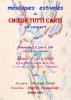 Affiche concerts juin 2016