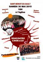 Choranimus tutti canti 2015 affiche