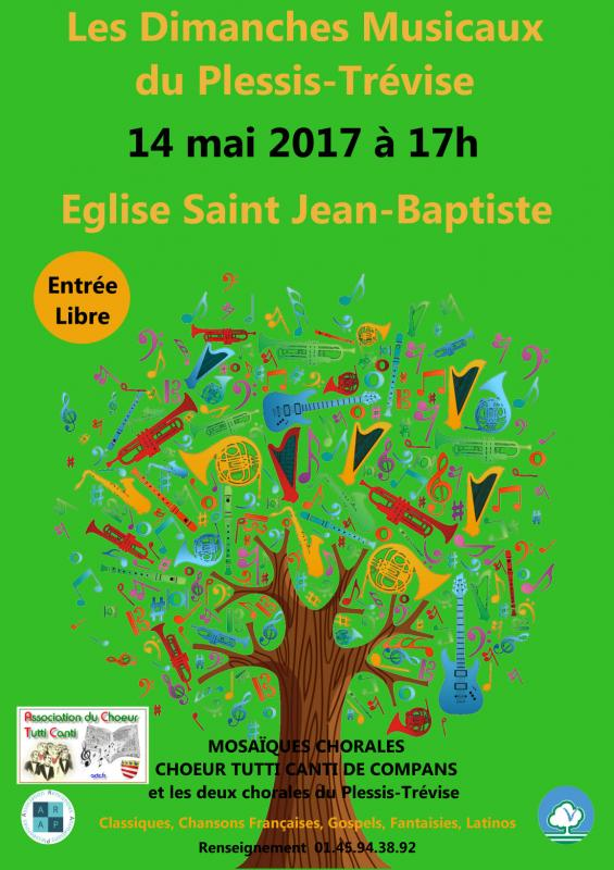 Concert plessis trevise 14 mai 2017