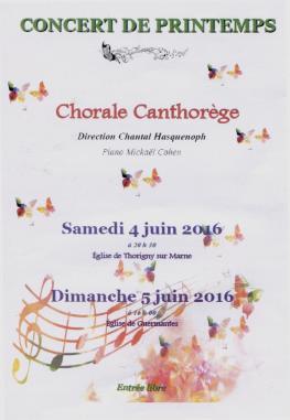 Concerts canthorege juin 2016