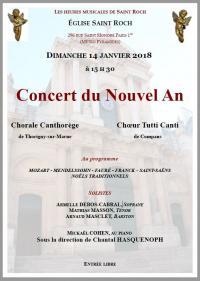St roch affiche a4 concert 14 janv 2018