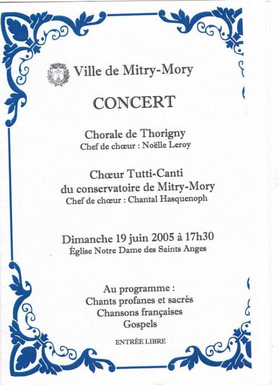 2005-Notre Dame des Saints Anges Mitry-Mory