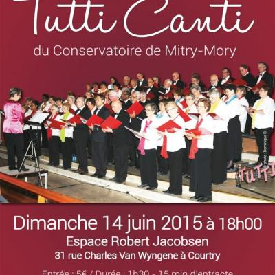24 juin 2015 - Affiche concert Courtry