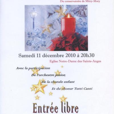 2010 - Notre Dame des Saints Anges à Mitry-Mory