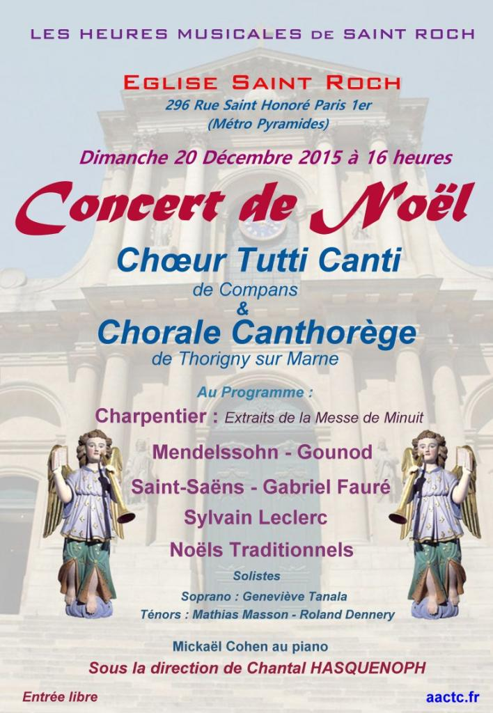 2015 Affiche St Roch- Tutti Canti Heures Musicales