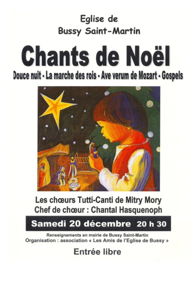 2003/12 - Bussy St Martin