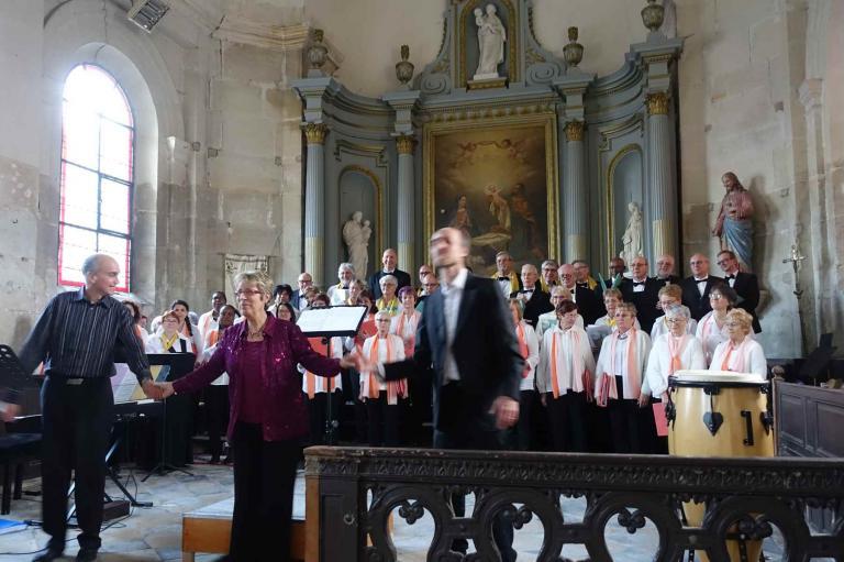 28/03/2019 - Rencontre chorales avec Fantaisies Moussignoles - COMPANS