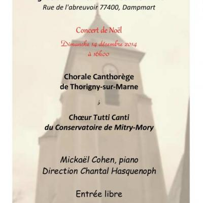 2014 - Flyer Dampmart Noël
