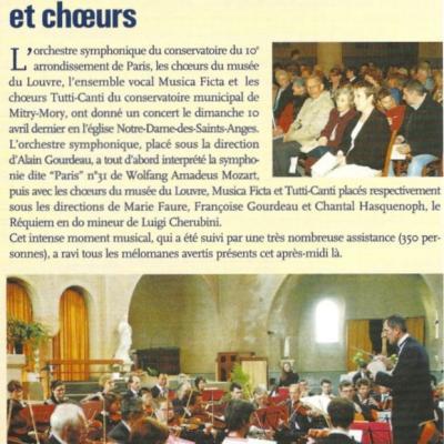 10 avril 2004 - Notre Dame des Saints Anges