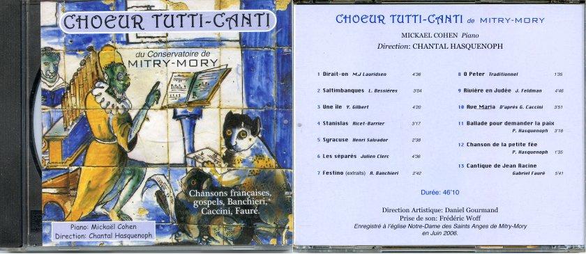 Pochette cd1 juin 2006